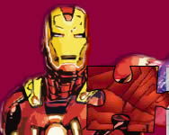 Iron Man the puzzle puzzle játékok