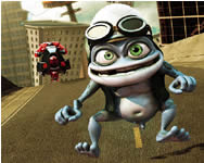 Sort my tiles Crazy Frog puzzle j�t�kok