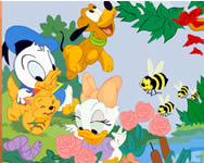Sort my tiles Disney Baby puzzle j�t�kok ingyen