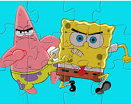 Spongebob and Patric in action online játék