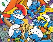 The Smurfs mix up játék